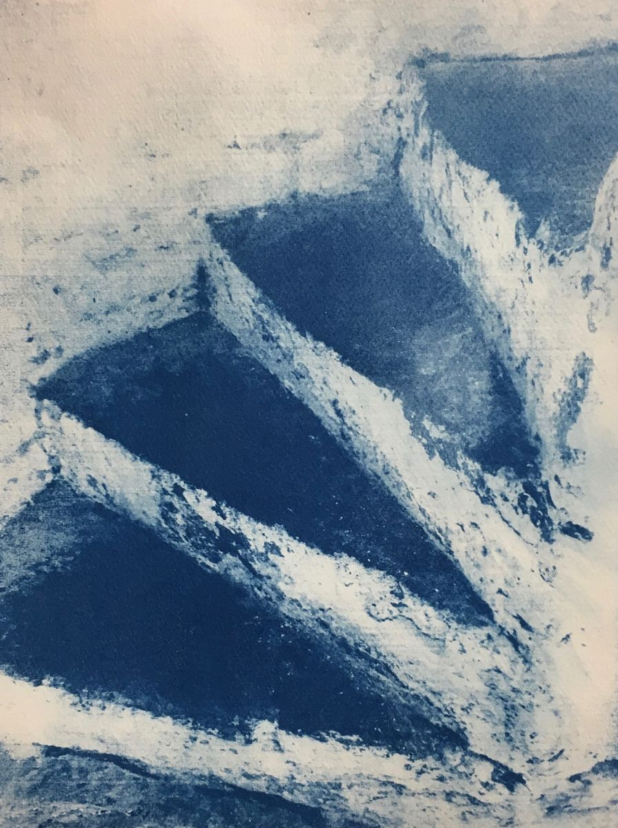 ASCENT: Cyanotypes, Wire and Paper Sculptures by Gail Erwin – 6 ...